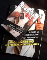 Missionary 911: A Guide to Productive Conversations with Mormon Missionaries Combo DVD and Manual