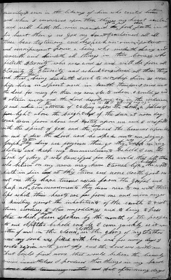 Joseph Smith's 1832 diary account of his first vision in his own handwriting.